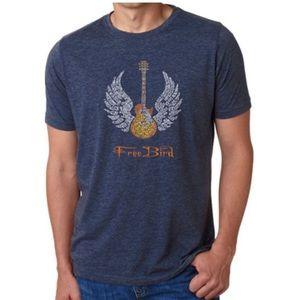 NEW LA Pop Art Free Bird graphic T-shirt unisex